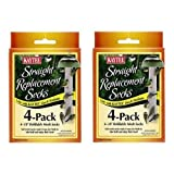 Kaytee #100501109 4 Count Replacement Finch Sock … (2 Pack)