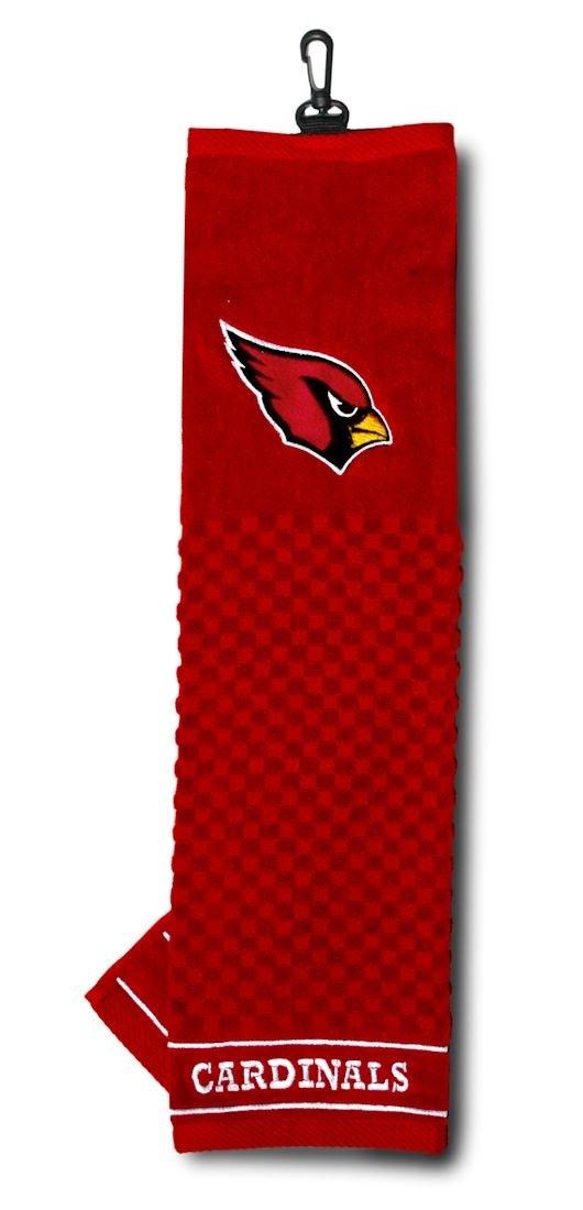 NFL Officially Licensed 16''x22'' Embroidered Golf Towel Arizona Cardinals