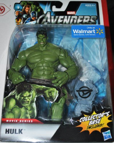 Marvel The Avengers Exclusive Movie Series Hulk Action Figure