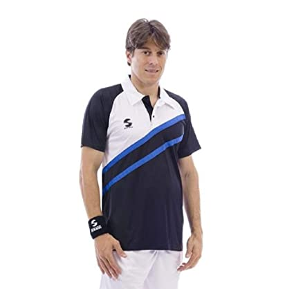 Polo Padel Softee Start Color Marino, Blanco Y Rojo: Amazon ...