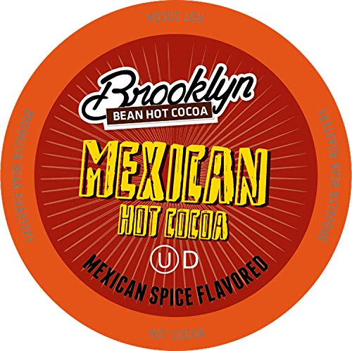 Brooklyn Beans Mexican Chocolate Hot Cocoa Pods, Compatible with 2.0 K-Cup Brewers, 40 Count (Best Mexican Hot Chocolate)