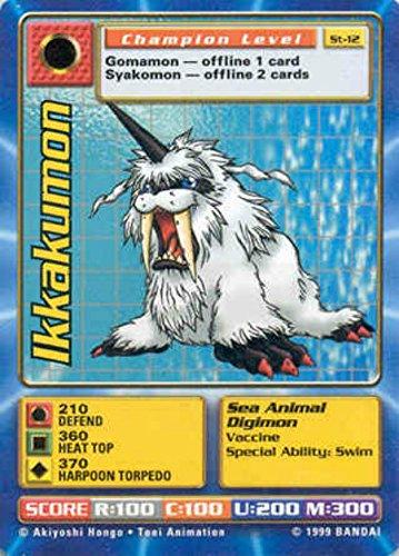- Digimon Card - Ikkakumon St-12 - Champion Level
