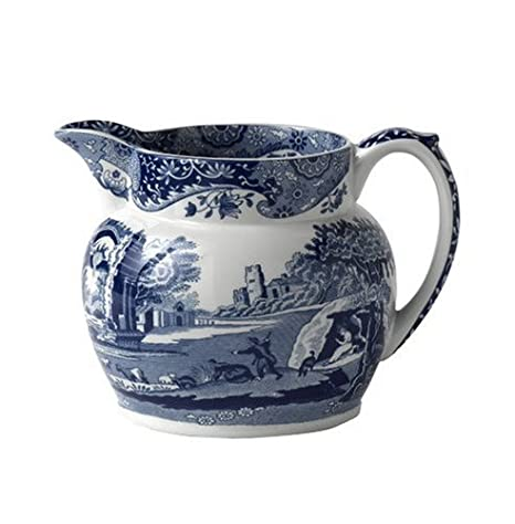 Amazon.com: Spode Blue Italian – Jarra de leche: Kitchen ...