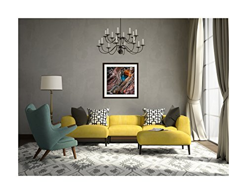 Amanti Art Spa Pool, Hamersley Gorge' by Ignacio Palacios Framed Art Print, 32 x 32'' by Amanti Art (Image #5)