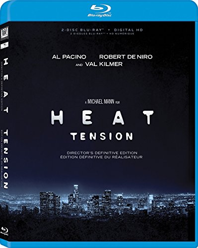 Blu-ray : Heat (Director\'s Definitive Edition) (Digital Theater System, AC-3, , Dubbed, Widescreen)
