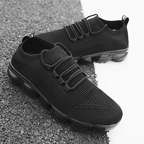 VOESPO Running Outdoor Breathable Black Air Mesh Sneakers Men Sport Athletic Air Color Shoes Shoes Cushion Jogging Walking PTqrwT
