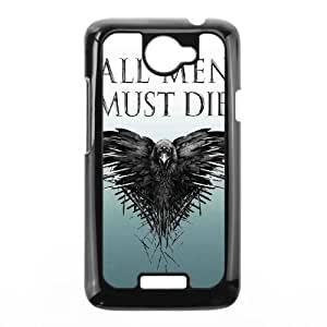HTC One X Cell Phone Case Black Game of Thrones Hrue