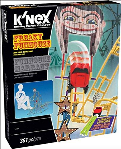 K'Nex Freaky Funhouse Roller Coaster Building Set ()
