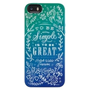 Belkin Dana Tanamachi Quote with Floral for Iphone 5 - Multicolor (F8w596ttc00)