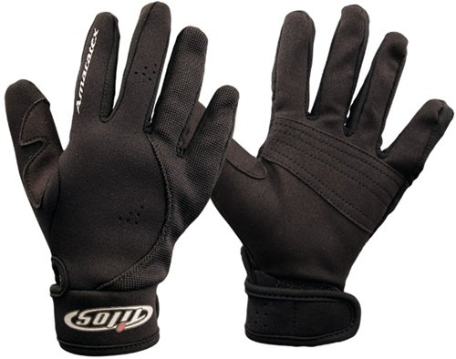 Tilos 1.5 Amara Palm Mesh Reef Glove (Black, Small)