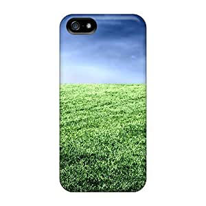 Defender Case For Iphone 5/5s, Sport South Africa Fifa World Cup Football Field In South Africa Pattern