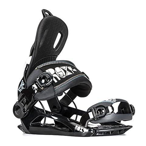Roxy Rock-It Blast Womens Snowboard Bindings - Medium-Large/Black - Roxy Rock