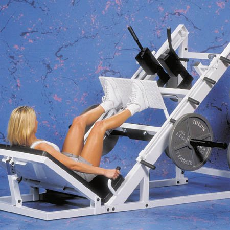 Yukon Fitness Husky Hip and Leg Sled Lower Body Gym by Yukon