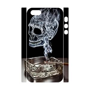 C-QUE Cell phone Protection Cover 3D Case Skull For Iphone 5,5S