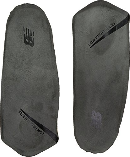 New Balance Insoles 2720 3/4 Low Profile with Med Pad Shoe Insoles, grey, Medium/M 6-7-W 8-9 D US