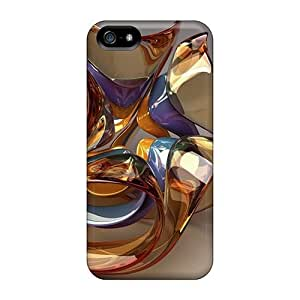 Faddish Phone Glass Sculpture 68 Case For Iphone 5/5s / Perfect Case Cover