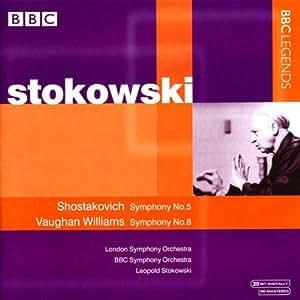 Shostakovich: Symphony No. 5; Vaughan Williams: Symphony No. 8