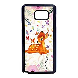 Bambi-001 For Samsung Galaxy Note 5 Cell Phone Case Black Cover xin2jy-4344900