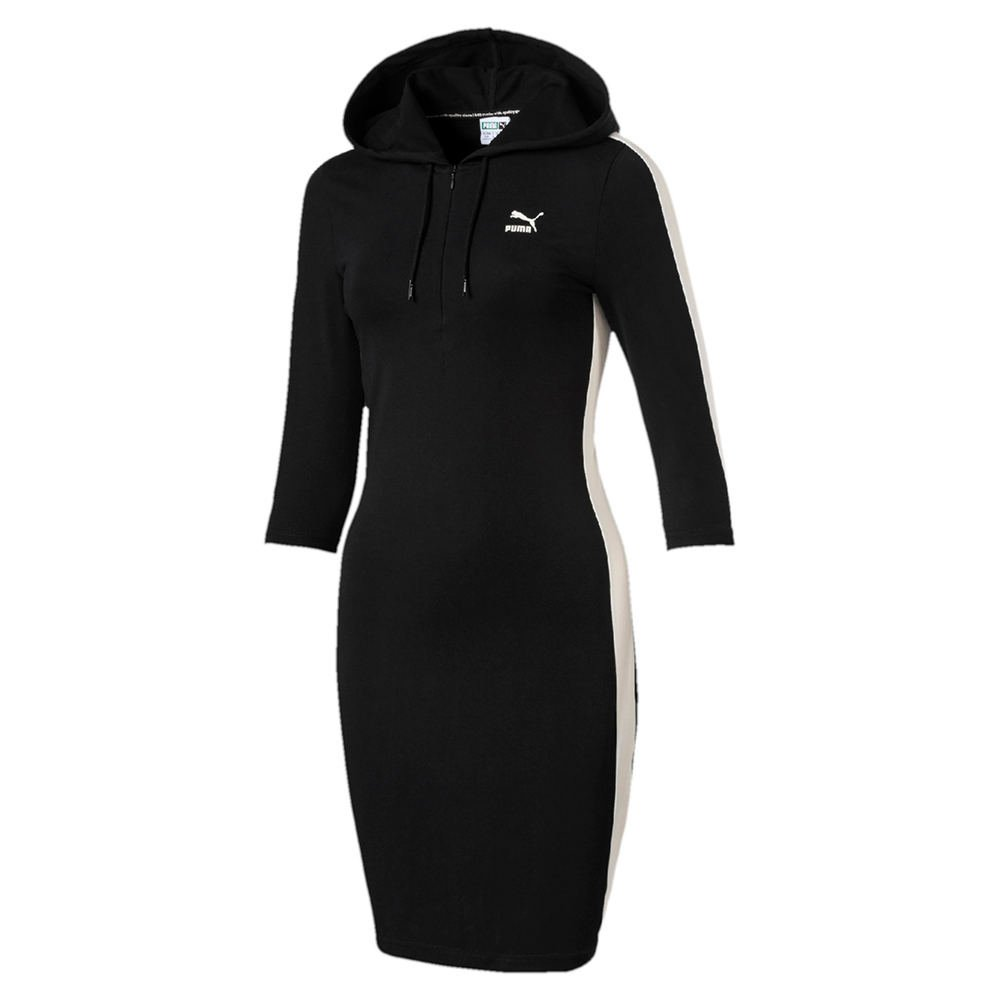 PUMA Women's T7 Dress Black Dress