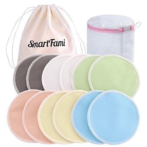 12x Feed waschbar wiederverwendbare Brust Stilleinlagen weich absorbierende//RSDE