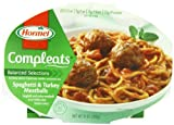 Hormel Compleats Spaghetti with Turkey Meatballs, 10-Ounce (Pack of 6)