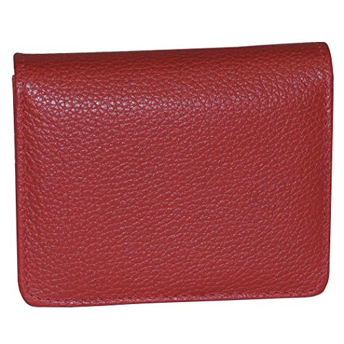 Buxton Mini Wallet, dark red