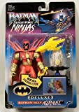 Batman Knight Force Ninjas Deluxe Ally Azrael Figure