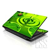 LSS 17 17.3 inch Laptop Notebook Skin Sticker Cover Art Decal Fits 16.5' 17' 17.3' 18.4' 19' HP Dell Apple Asus Acer Lenovo Asus Compaq (Free 2 Wrist Pad Included) Ladybug