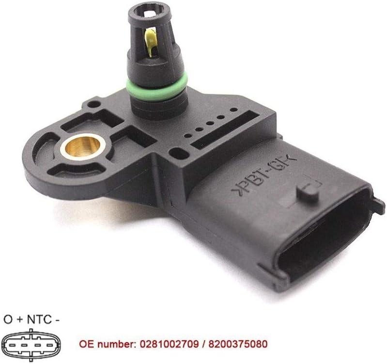 MAP presi/ón de empuje Sensor Fit Renault Laguna MEGANE SCENIC GRAND VITARA 1.9 DCI CPDN 8200375080 0281002709 223650754R
