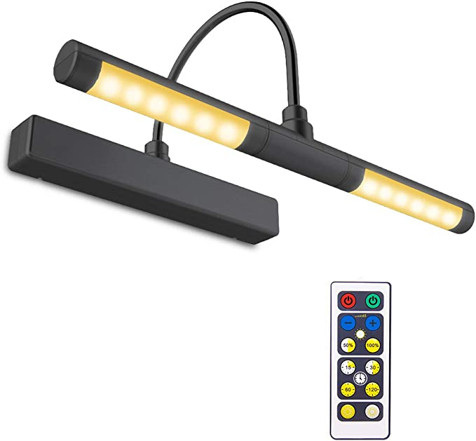 BIGLIGHT Wireless Battery Operated LED Picture Light with Remote - A Versatile Choice