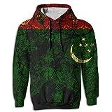 Vintage Turkmenistan Printed Hoodie Sweatshirt Hoodies Hooded Sport Outwear