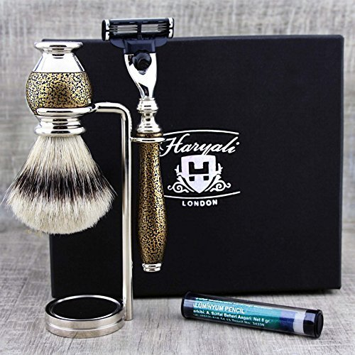 Used, Vintage Look 3Pc Men's Shaving & Grooming Set ft Top for sale  Delivered anywhere in USA