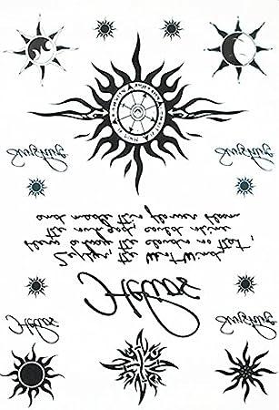 ARM Tattoo sol Palabras y brazo tatuaje pegatinas hb061: Amazon.es ...