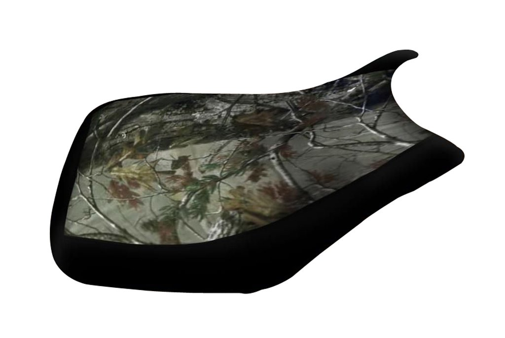 Honda Rubicon Foreman 500 2005-2011 Camo Top Black Sides Seat Cover
