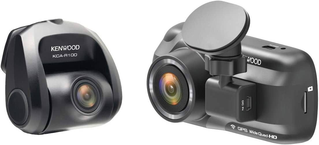 """Kenwood DRV-A501WDP 3"""" HD Dashcam with Wi-Fi"""