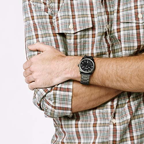 Fossil NCAA Mens Machine Smoke Watch, Grey, One Size