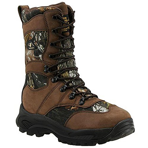 Golden Retriever Men's Camoflage Waterproof Boot,Mobu Cordura/Brown,9.5 M US