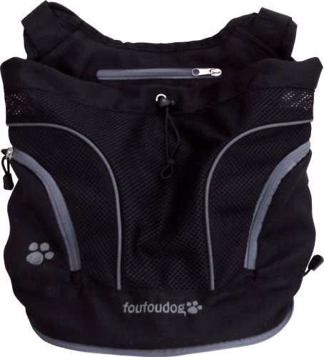 Poochy Pouch (FouFou Dog Poochy Pouch, Black - Small by FouFou Dog)