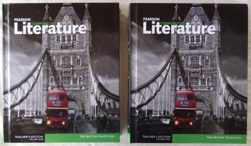 Pearson Common Core Literature The British Tradition Teacher's Edition Volumes One (1) & Two (2)