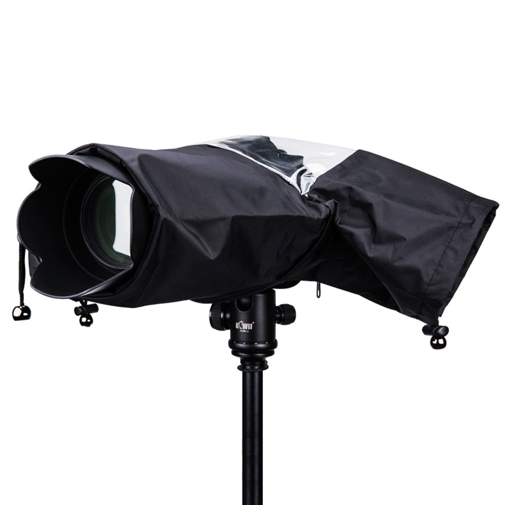 Rain Cover Camera Protector Rainproof for Canon Nikon and Other Digital SLR Cameras by AOREAL