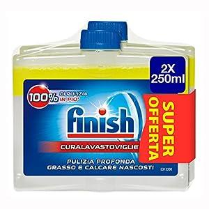 Finish Curalavastoviglie Additivo Lavastoviglie, Limone, 2 x 250 ml 13 spesavip