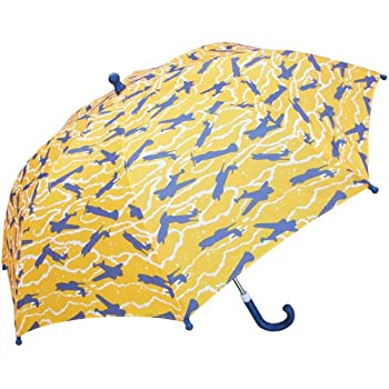 RainStoppers Boys Airplane Print Umbrella, 34-Inch