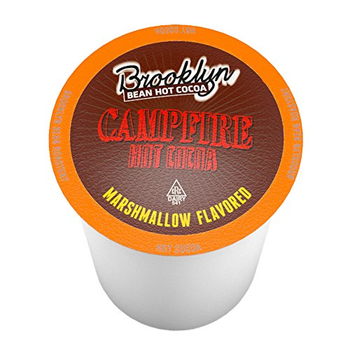 Brooklyn Bean Roastery Single-Cup Hot Cocoa for Keurig K-Cup Brewers