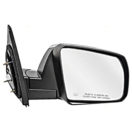 Fits 08-13 Sequoia 07-13 Tundra Right Pass Mirror Unpainted ManFold W//Heat NoSig