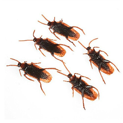 [Frontier 10PCS April Fool's Day Trick Props Cockroach Spoof Cockroach] (Cockroach Costumes)