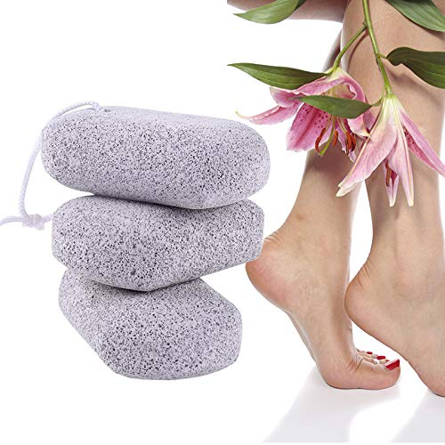 ixaer Paco of 4 Foot Pumice Stones Foot Care Scrub Dead Hard Skin Callus Remover Pedicure Tool Natural, Great for exfoliating callused skin by ixaer (Image #7)