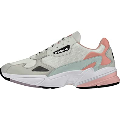 exclusive shoes reasonably priced sports shoes adidas Falcon Trainers White: Amazon.co.uk: Shoes & Bags
