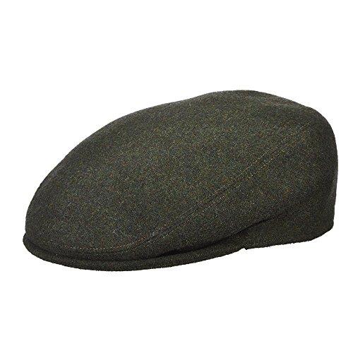 Stetson Men's Cashmere Blend Ivy Cap, Loden, Large (Green Loden Wool)