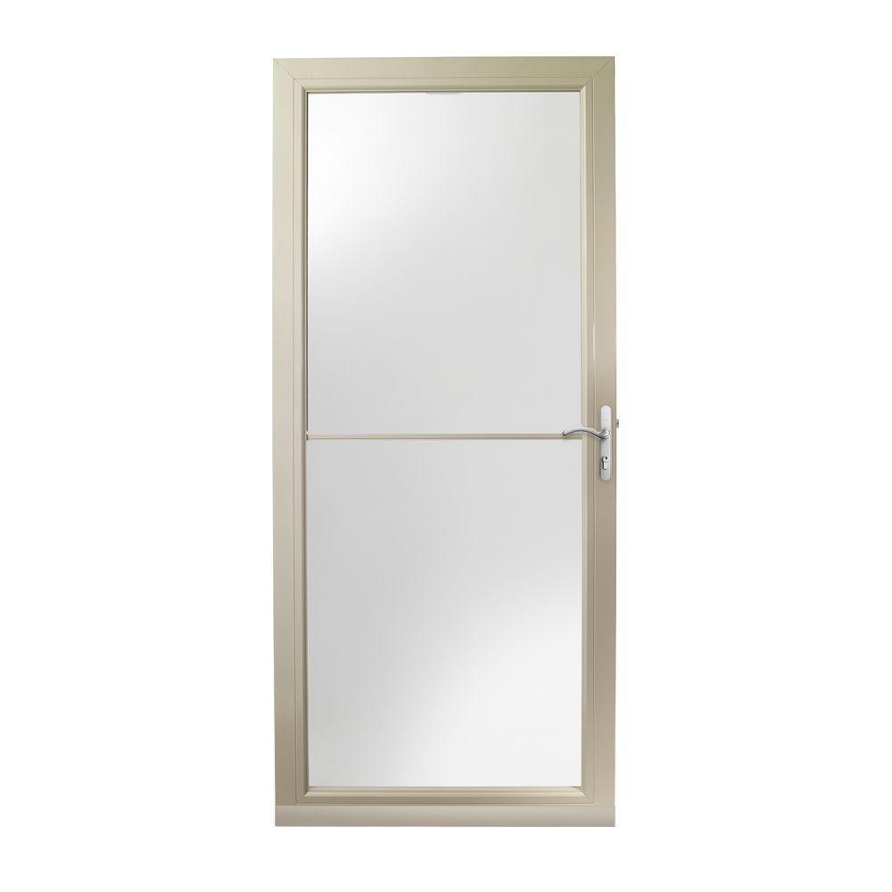3000 Series 36 In Sandtone Self Storing Easy Install Storm Door