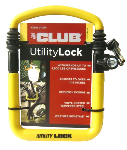 The Club UTL810 Utility Lock, - Lock Bike Club